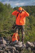 Warme Fluo-Bekleidung Herrenbekleidung - Fleecejacke 300 SOLOGNAC - Oberbekleidung Herren