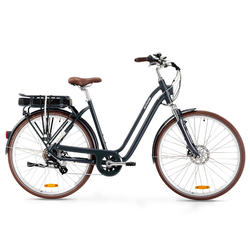 E-Bike City Bike 28 Zoll Elops 900E LF Damen blau