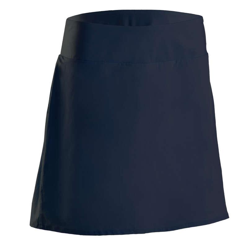 WOMENS WARM WEATHER GOLF CLOTHING Golf - Women's Skort 900 - Navy Blue INESIS - Golf Clothing