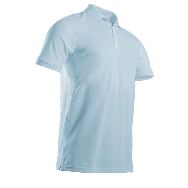 FÉRFI GOLFRUHÁZAT MELEG ID#RE Golf - Férfi golfpóló Light, kék  INESIS - Golfruházat, Golf cipő, Golf kesztyű