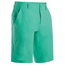 Short de golf homme WW500 vert