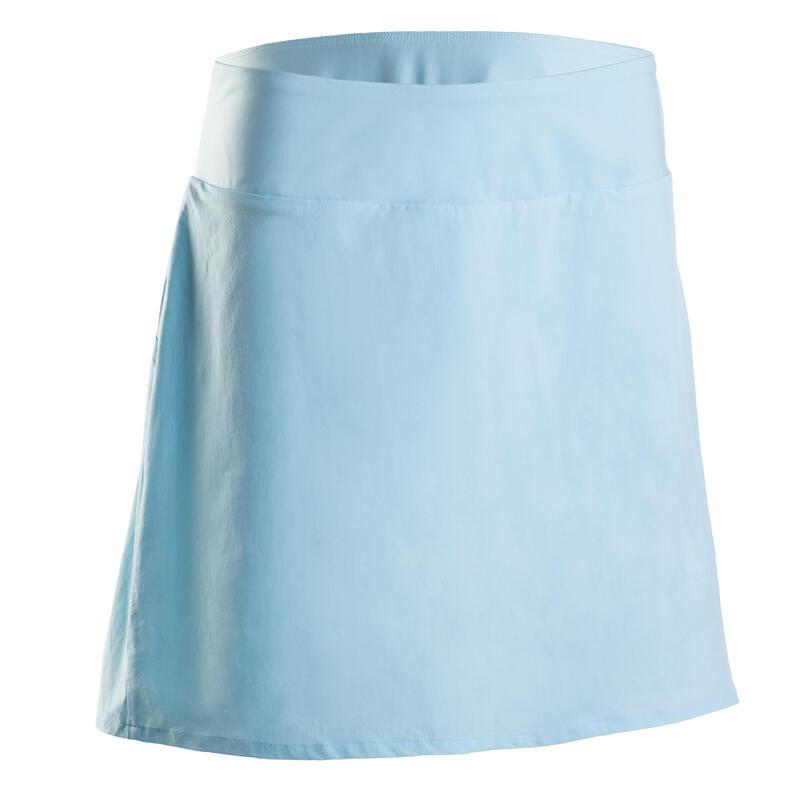 Women's golf skort WW500 light blue
