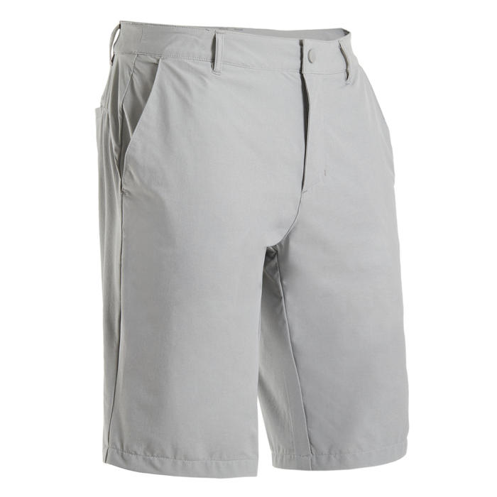 SHORT DE GOLF POUR HOMME ULTRALIGHT GRIS