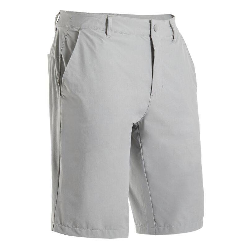Golfshort voor heren Ultralight grijs