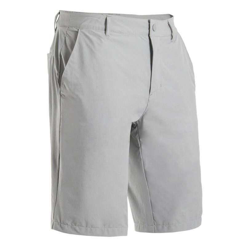 MENS WARM WEATHER GOLF CLOTHING Golf - Men's Ultralight Shorts - Grey INESIS - Golf Clothing