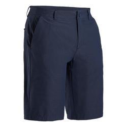 男款極輕量高爾夫短褲-軍藍色