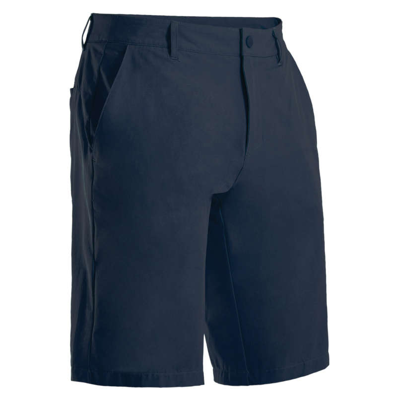 MENS WARM WEATHER GOLF CLOTHING Golf - Men's Ultralight Shorts - Navy INESIS - Golf Clothing