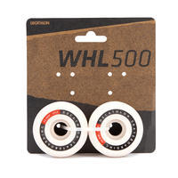 56 mm 101A Conical Skateboard Wheels 4-Pack - Ivory
