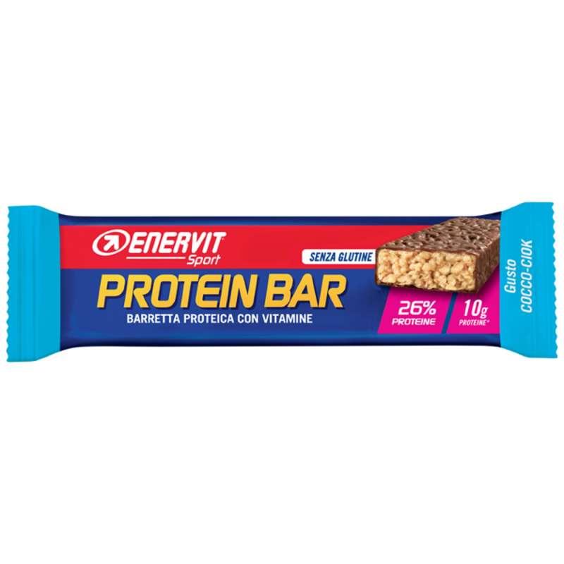 BARRETTE, GEL E RECUPERO Alimentazione - Barretta PowerSport Protein Cocco 28% ENERVIT - Alimentazione