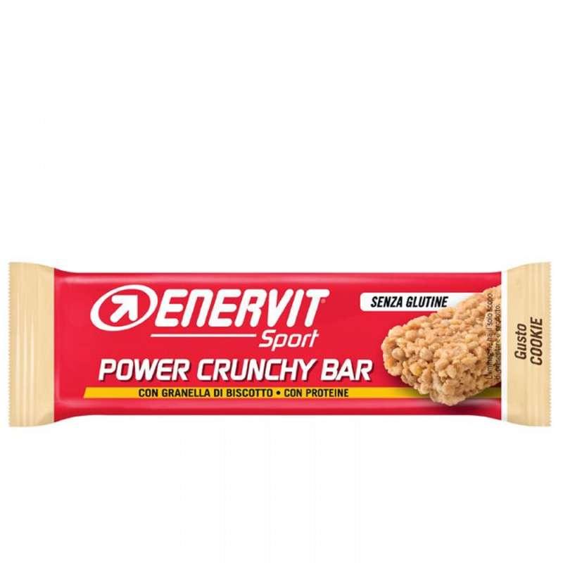 BARRETTE, GEL E RECUPERO Attività fisica intensa - Barretta PowerSport Crunchy Cookie 40g ENERVIT - Boutique alimentazione 2019
