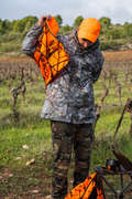 POSTED CAMOUFLAGE CLOTHING Shooting and Hunting - POSIKAM 100 WATERPROOF PARKA SOLOGNAC - Hunting Types