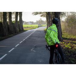 Zichtbare fietsregenjas voor heren RC120 EN1150
