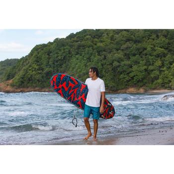 Surfing Standard Boardshorts 500 - Patchwork Turquoise