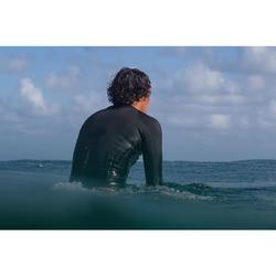 Top Neopreno 1,5 mm Surf 900 homem preto