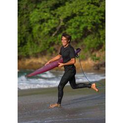 Legging anti UV surf 100 homme bleu ardoise