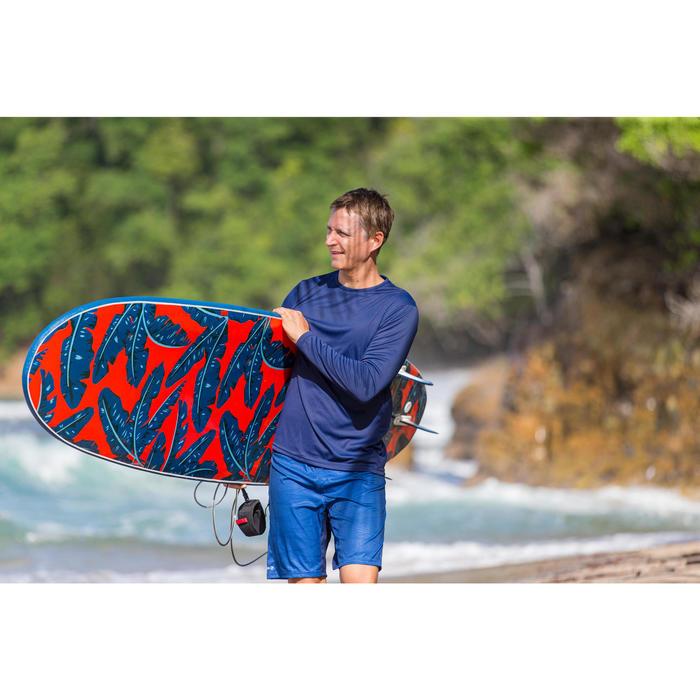 WATER tee SHIRT anti UV surf Manches LonguesHomme Bleu