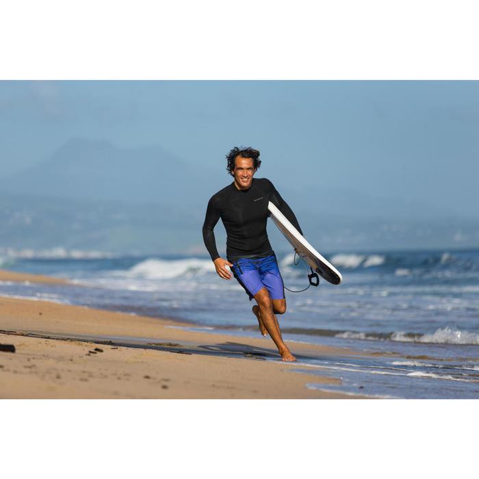 Top voor surfen heren 900 neopreen 2 mm zwart