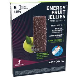 Pâte de fruits ENERGY FRUIT JELLIES cassis pomme acérola 5 x 25g