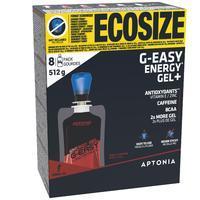 Energinė želė ilgiems nuotoliams G-EASY, ECOSIZE pakuotė, kolos skonio, 8x64 g