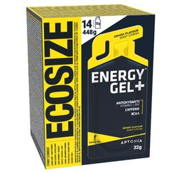 Gel énergétique ECOSIZE ENERGY GEL LONG DISTANCE Citron 14 x 32g