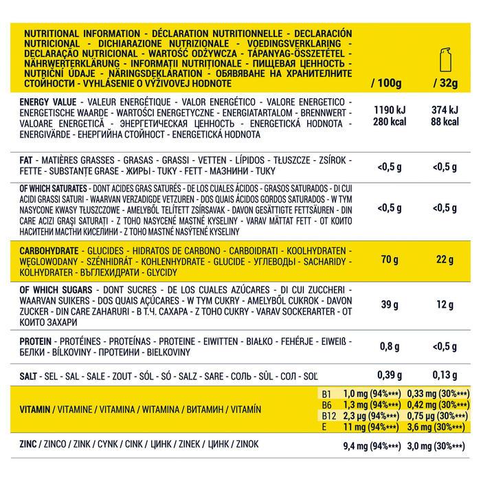 Energiegel lange afstand citroen voordeelverpakking 14x 32 g