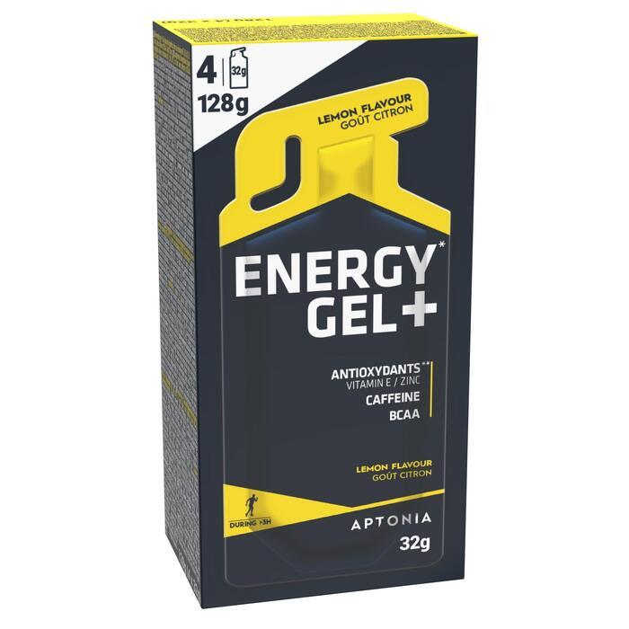 Gel énergétique ENERGY GEL+ citron 4 x 32g