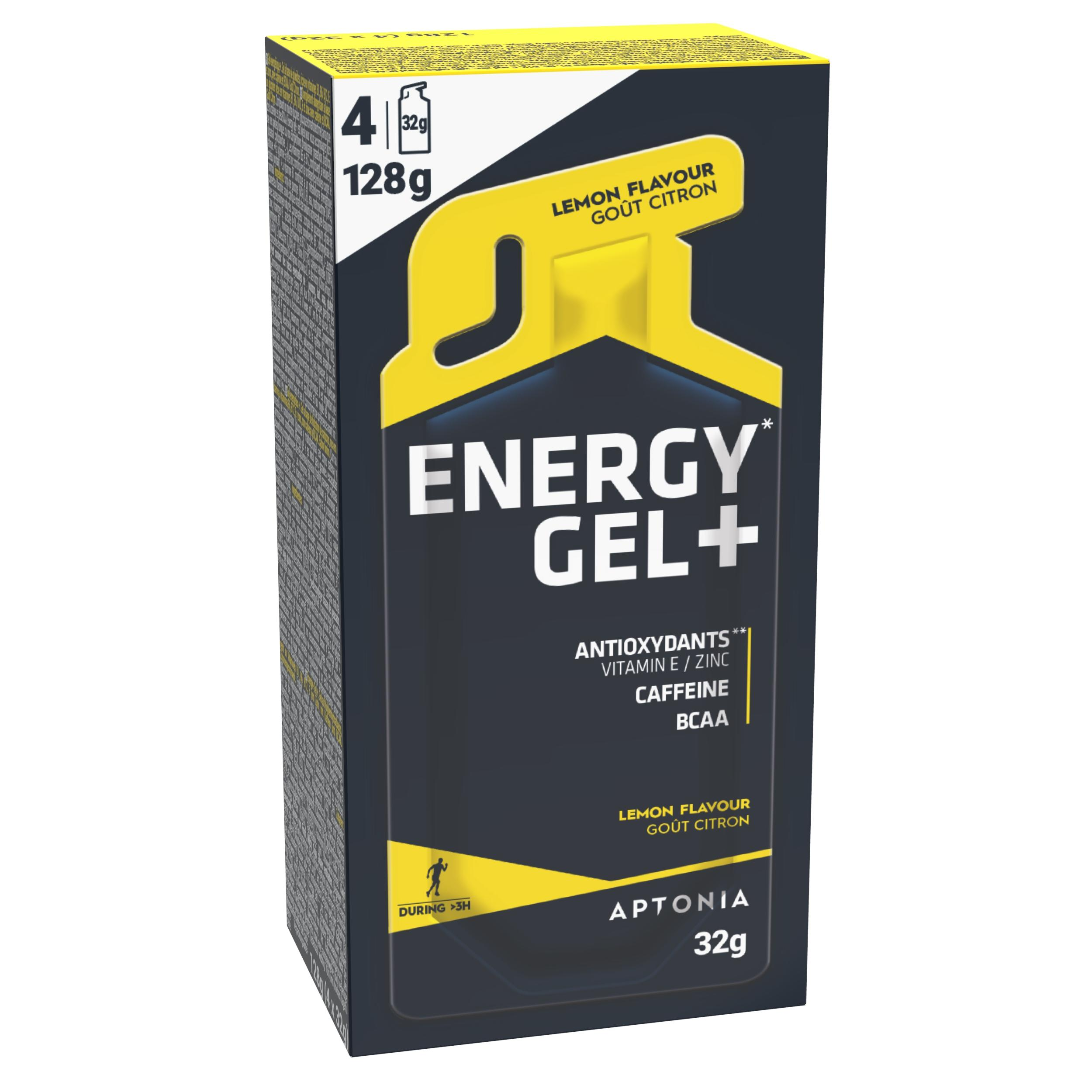 Gel Energy Gel+ Lămâie 4x32g de la APTONIA