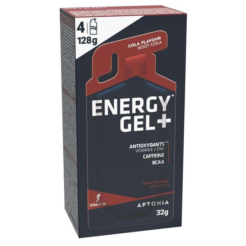 BARRAS, GÉIS& PÓS-ESFORÇO Hidratação e Alimentação - Energy gel+ Cola 4x32g APTONIA - Esforço Superior a 3 Horas
