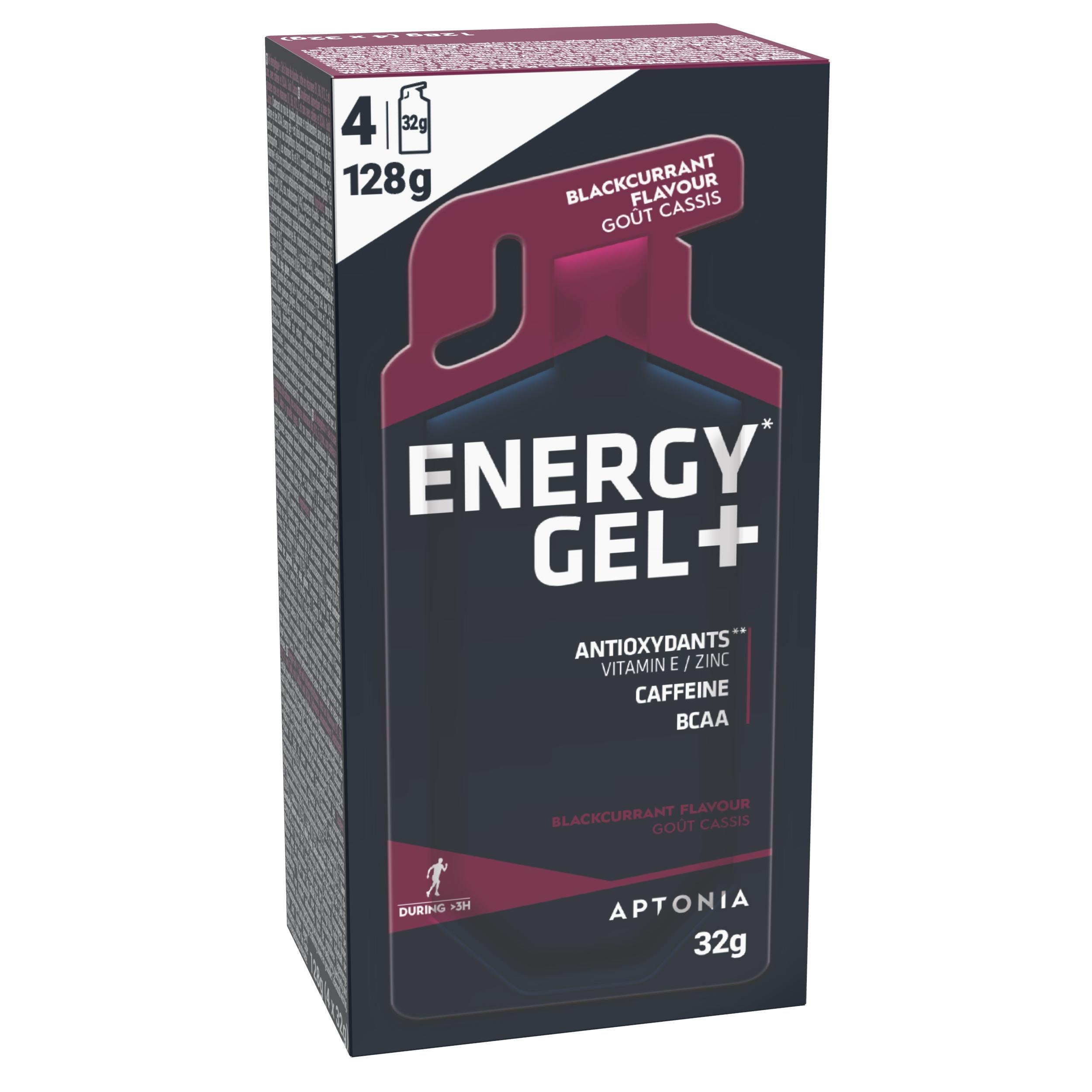 Gel Energy Gel+ Coacăze 4x32g