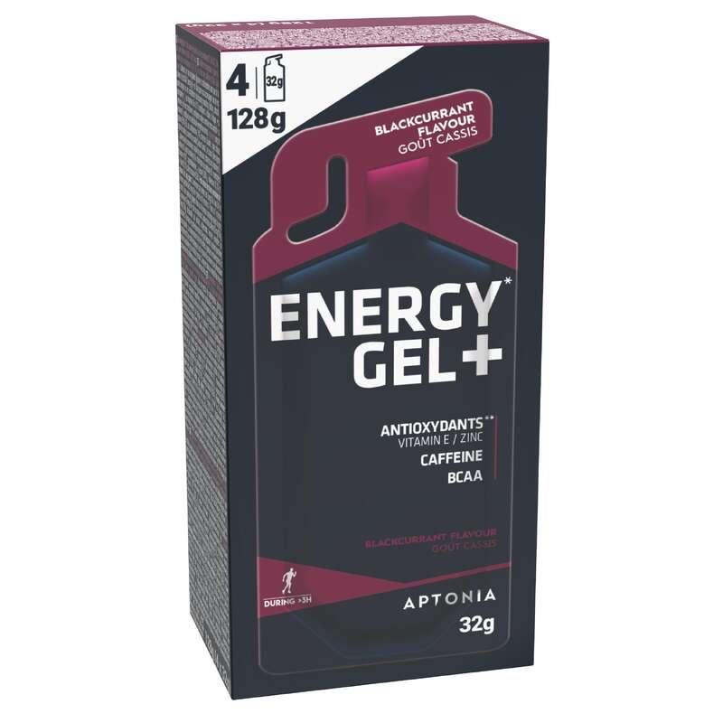 BATONY, ŻELE& PO WYSIŁKU Bieganie - Energy Gel+ czar. porzeczka x4 APTONIA - Akcesoria do biegania