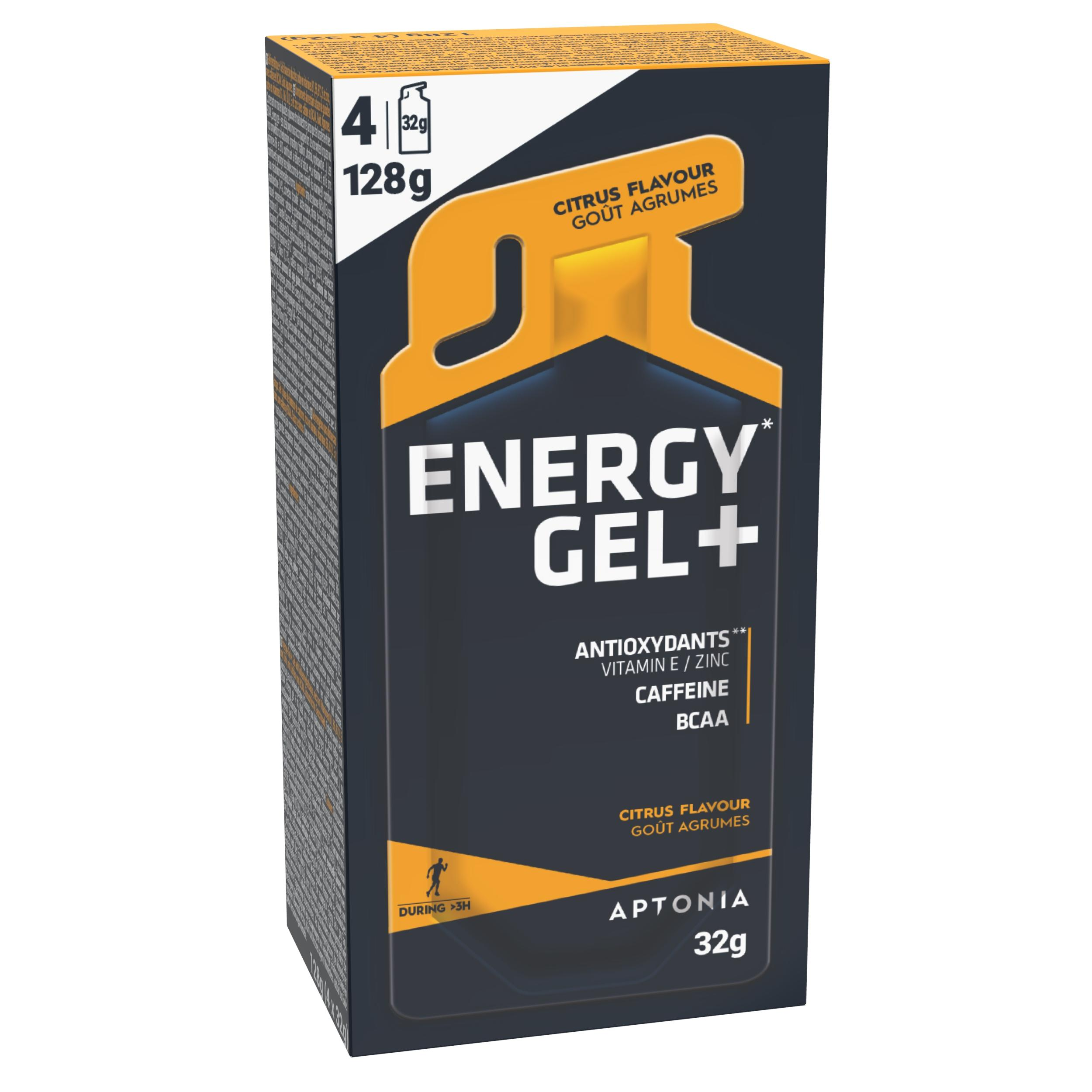Gel Energy Gel+ Citrice 4x32g de la APTONIA