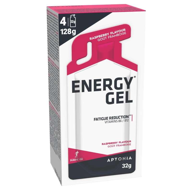 Sportriegel, -Gels, -Proteine Sportnahrung - Energy Gel Himbeere 4×32g APTONIA - Sportgetränke