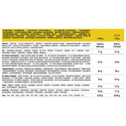 Barre céréales enrobées Chocolat Banane (6+2 gratuites) X 21g
