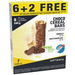 Graanrepen chocolade banaan (6 +2 gratis) 21 g