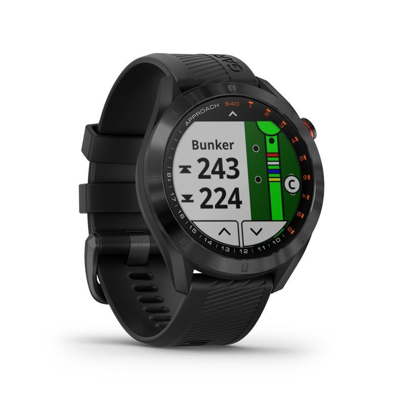 GOLF GPS WATCH GARMIN S40 PREMIUM - BLACK