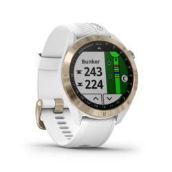 GPS-GOLFHORLOGE GARMIN S40 PREMIUM WIT ROZE