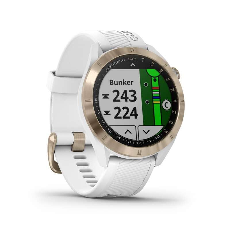 Electronica para Golf Relógios, GPS, Monitores Atividade - APPROACH S40 PREMIUM BRANCO GARMIN - Relógios, GPS, Monitores Atividade