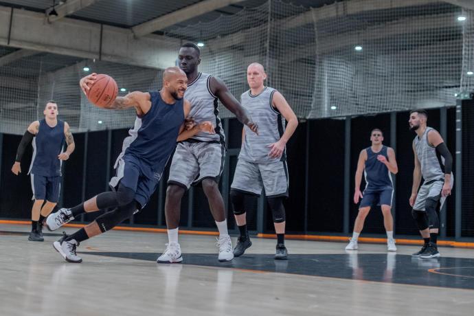 short basket tarmak decathlon