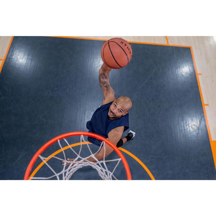 Basketbaltank voor heren T500 marineblauw