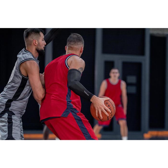 Basketbalsleeve voor heren/dames zwart