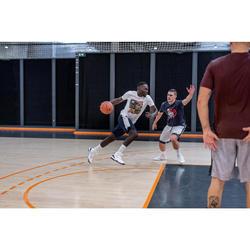 Men's Basketball T-Shirt / Jersey TS500 - White 6 Photos