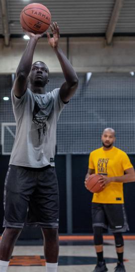 basketball-tir-exercices-echauffement