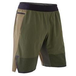 Shorts Crosstraining Herren khaki