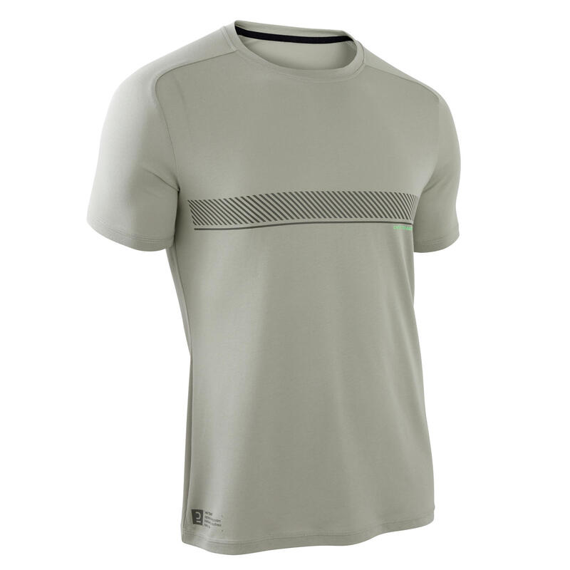 Men's Cross Training T-Shirt - Khaki
