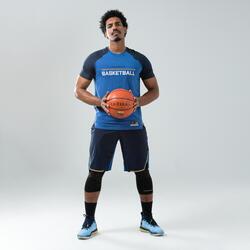 Basketbalshirt voor heren SH900 marineblauw