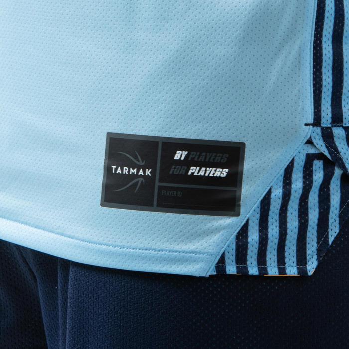 Men's Reversible Basketball Jersey / Tank Top T500R - Pastel Blue / Navy