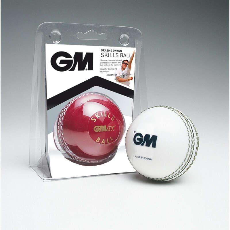 LEATHER BALL INTERMEDIATE CRICKET BALLS Cricket - Skills Cricket Ball GUNN & MOORE - Cricket Equipment