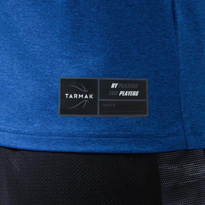 男款無袖籃球T恤/運動衫TS500-藍色/洛杉磯