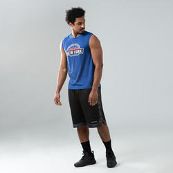 Men's Basketball Sleeveless T-Shirt / Jersey TS500 - Blue Los Angeles