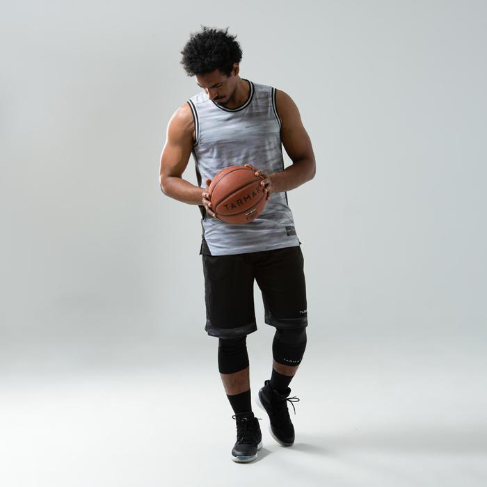 Men's Reversible Basketball Jersey / Tank Top T500R - Blue/Red